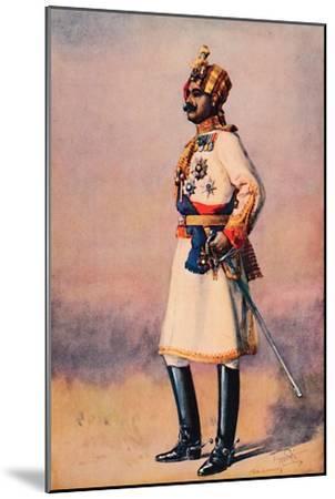 'An Indian Maharaja', 1913-AC Lovett-Mounted Giclee Print