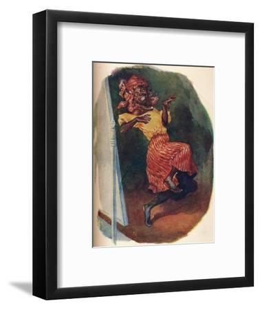 'Dancing before the glass in great style', 1929-Unknown-Framed Giclee Print