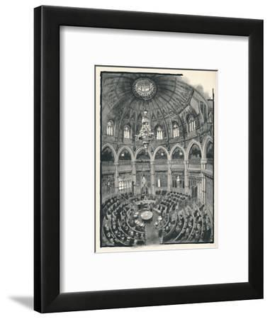 'The Guildhall - Council Chamber', 1891-William Luker-Framed Giclee Print