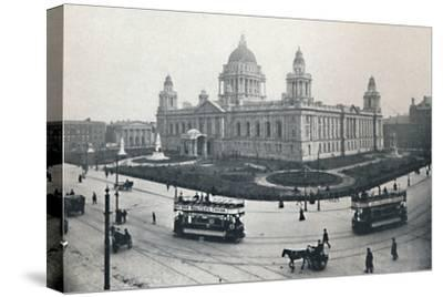 'City Hall, Belfast', 1917-Unknown-Stretched Canvas Print