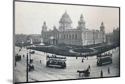 'City Hall, Belfast', 1917-Unknown-Mounted Photographic Print