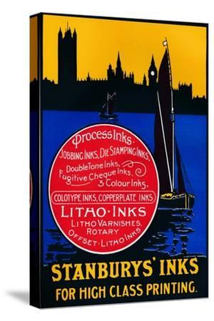 'Stansbury's Inks for High Class Painting', 1910-Unknown-Stretched Canvas Print