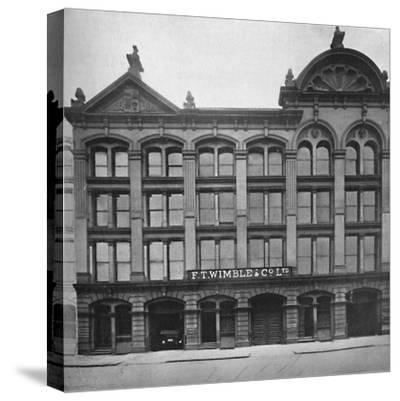 'F. T. Wimble & Co., Ltd. - Head Office, Warehouse and Factory', 1919.-Unknown-Stretched Canvas Print