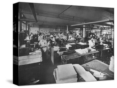 'View of Forwarding and Binding Room', 1919-Unknown-Stretched Canvas Print