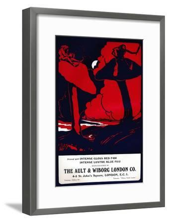 'The Ault & Wiborg London Co. advert', 1919-Unknown-Framed Giclee Print