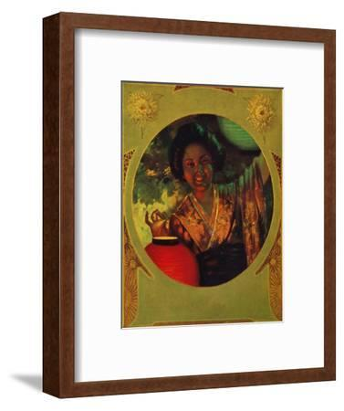 'Printed with Shackell's Bi-Color Lake & Blue', 1907-Unknown-Framed Giclee Print