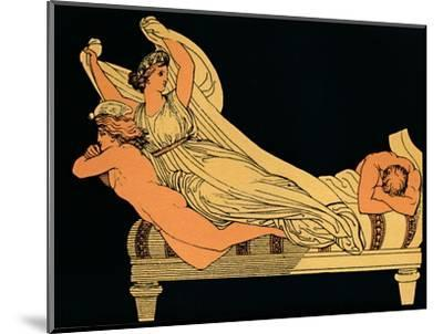 The Empty Joy That Dwells In the Dreams of the Night, 1880-Flaxman-Mounted Giclee Print