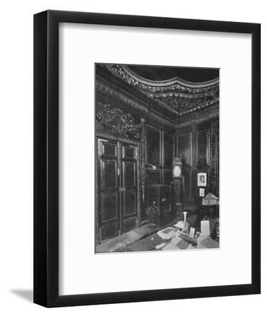 'Vestry of St. Lawrence Jewry, With Carving by Grinling Gibbons', 1903-Unknown-Framed Photographic Print