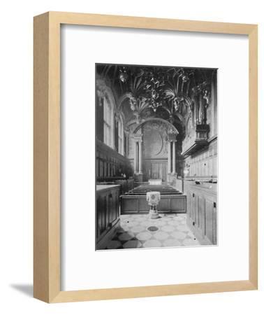 'The Chapel, Hampton Court Palace', 1903-Unknown-Framed Giclee Print