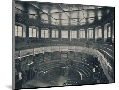 'The Sheldonian Theatre, Oxford', 1903-Unknown-Mounted Photographic Print