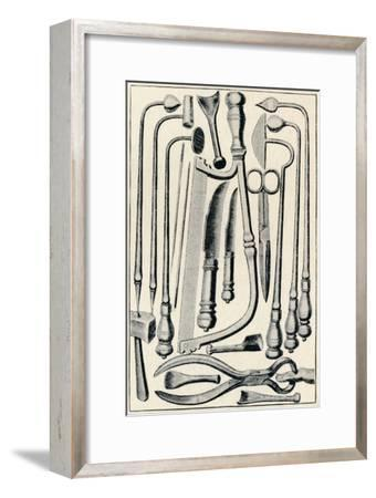 'Surgical Instruments', 1639, (1903)-Unknown-Framed Giclee Print