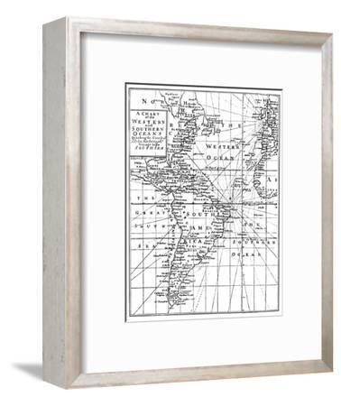 'Sir John Narbrough's Voyage', c1670, (1903)-Unknown-Framed Giclee Print