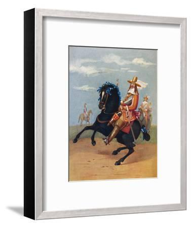 'Lifeguardsman in Uniform, 1661', 1661, (1903)-Unknown-Framed Giclee Print