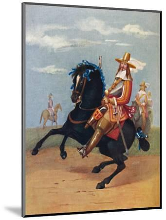 'Lifeguardsman in Uniform, 1661', 1661, (1903)-Unknown-Mounted Giclee Print