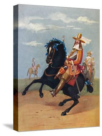 'Lifeguardsman in Uniform, 1661', 1661, (1903)-Unknown-Stretched Canvas Print