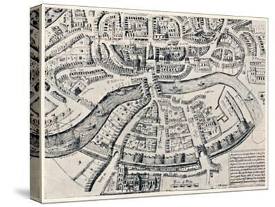 'Bristol in 1670', 1670, (1903)-Unknown-Stretched Canvas Print