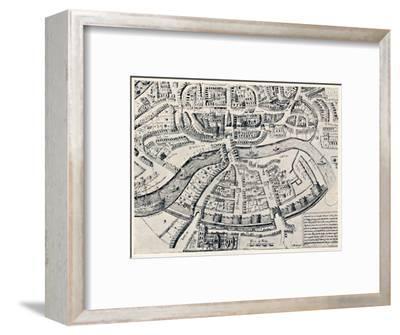 'Bristol in 1670', 1670, (1903)-Unknown-Framed Giclee Print