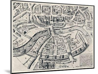 'Bristol in 1670', 1670, (1903)-Unknown-Mounted Giclee Print