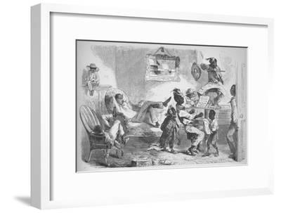 'In the mansion of Robert W Barnwell at Beaufort, North Carolina', c1860, (1938)-Unknown-Framed Giclee Print