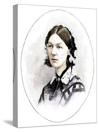 Florence Nightingale (1820-1910), British nurse-Unknown-Stretched Canvas Print