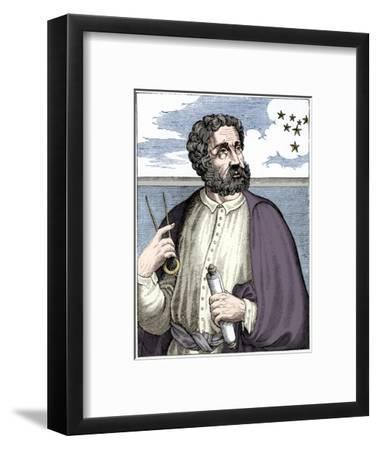 Ferdinand Magellan (c1480-c1521), Portugese navigator-Unknown-Framed Giclee Print