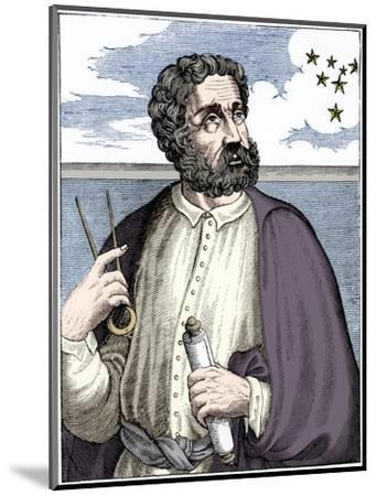 Ferdinand Magellan (c1480-c1521), Portugese navigator-Unknown-Mounted Giclee Print