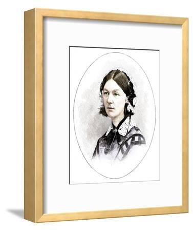 Florence Nightingale (1820-1910), British nurse-Unknown-Framed Giclee Print