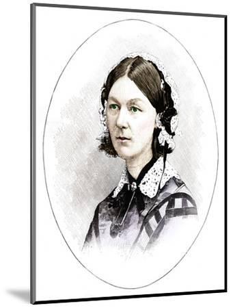 Florence Nightingale (1820-1910), British nurse-Unknown-Mounted Giclee Print