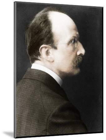 Max Planck (1858-1947), c1918-Unknown-Mounted Photographic Print