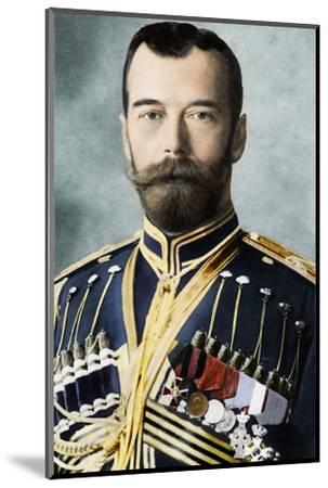 Tsar Nicholas II of Russia, c1900-Unknown-Mounted Photographic Print