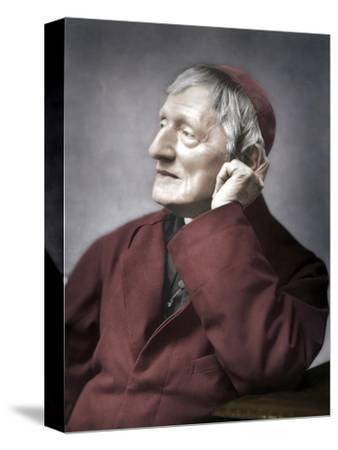 John Henry Newman, British cardinal, late 19th century-Unknown-Stretched Canvas Print