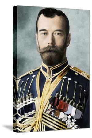 Tsar Nicholas II of Russia, c1900-Unknown-Stretched Canvas Print