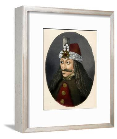 'Vlad III, Prince of Wallachia', c1906, (1907)-Unknown-Framed Giclee Print