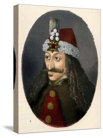 'Vlad III, Prince of Wallachia', c1906, (1907)-Unknown-Stretched Canvas Print