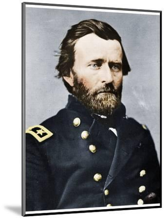 General Ulysses S Grant, American soldier and politician, c1860s (1955)-Unknown-Mounted Photographic Print