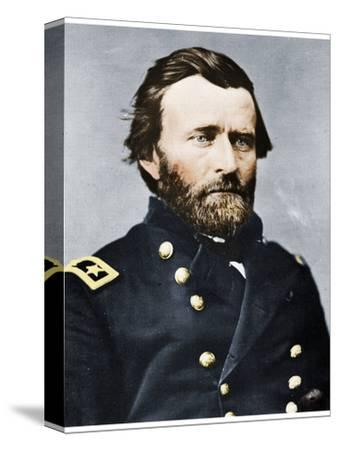 General Ulysses S Grant, American soldier and politician, c1860s (1955)-Unknown-Stretched Canvas Print