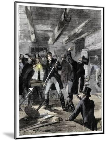 The arrest of the Cato Street conspirators, 1820 (c1895)-Unknown-Mounted Giclee Print