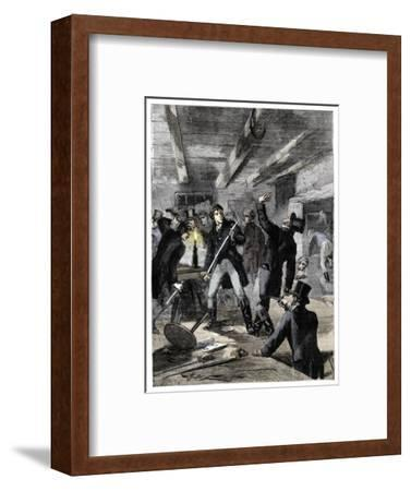 The arrest of the Cato Street conspirators, 1820 (c1895)-Unknown-Framed Giclee Print