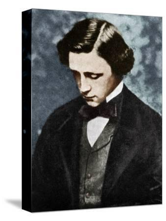 Lewis Carroll, English author, 19th century (1951).-Unknown-Stretched Canvas Print