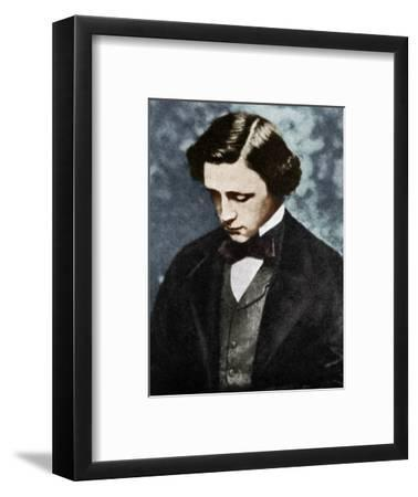 Lewis Carroll, English author, 19th century (1951).-Unknown-Framed Photographic Print