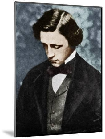Lewis Carroll, English author, 19th century (1951).-Unknown-Mounted Photographic Print