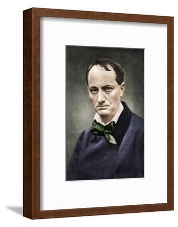 Charles Baudelaire, influential French poet, critic and translator, mid-19th century-Unknown-Framed Photographic Print