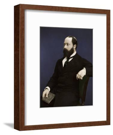 Edward VII (then Prince of Wales), 1876-Unknown-Framed Photographic Print
