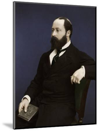 Edward VII (then Prince of Wales), 1876-Unknown-Mounted Photographic Print