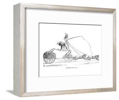 'Agnes T-n.', c1870-Unknown-Framed Giclee Print
