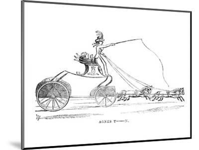 'Agnes T-n.', c1870-Unknown-Mounted Giclee Print
