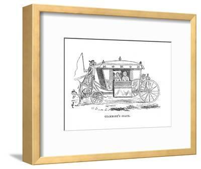 'Grammont's Coach', c1870-Unknown-Framed Giclee Print