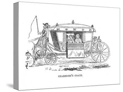 'Grammont's Coach', c1870-Unknown-Stretched Canvas Print