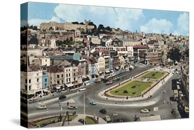 'City Centre, Bristol', c1940s-Unknown-Stretched Canvas Print