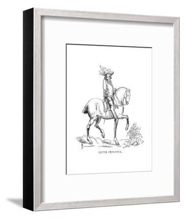 'Oliver Cromwell', c1870-Unknown-Framed Giclee Print